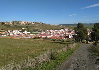 Vistas de Peñarroya-Pueblonuevo y del Peñón
