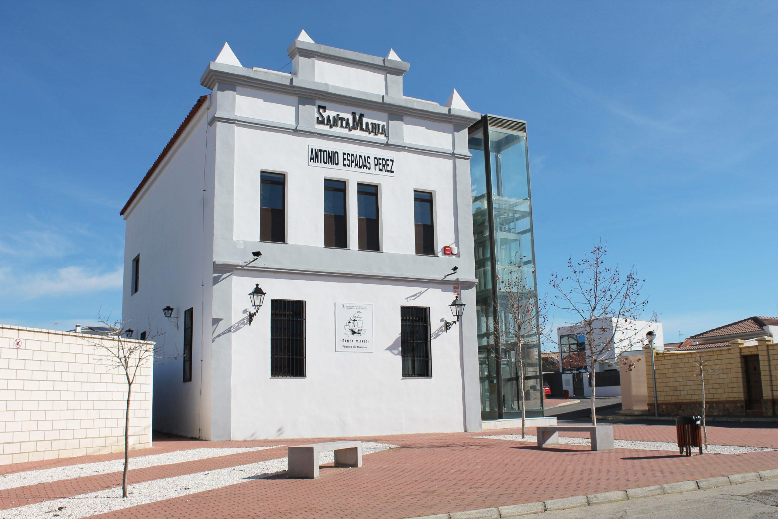 """Fábrica de Harinas """"Santa María"""" Museo Antonio Espadas Pérez 1"""