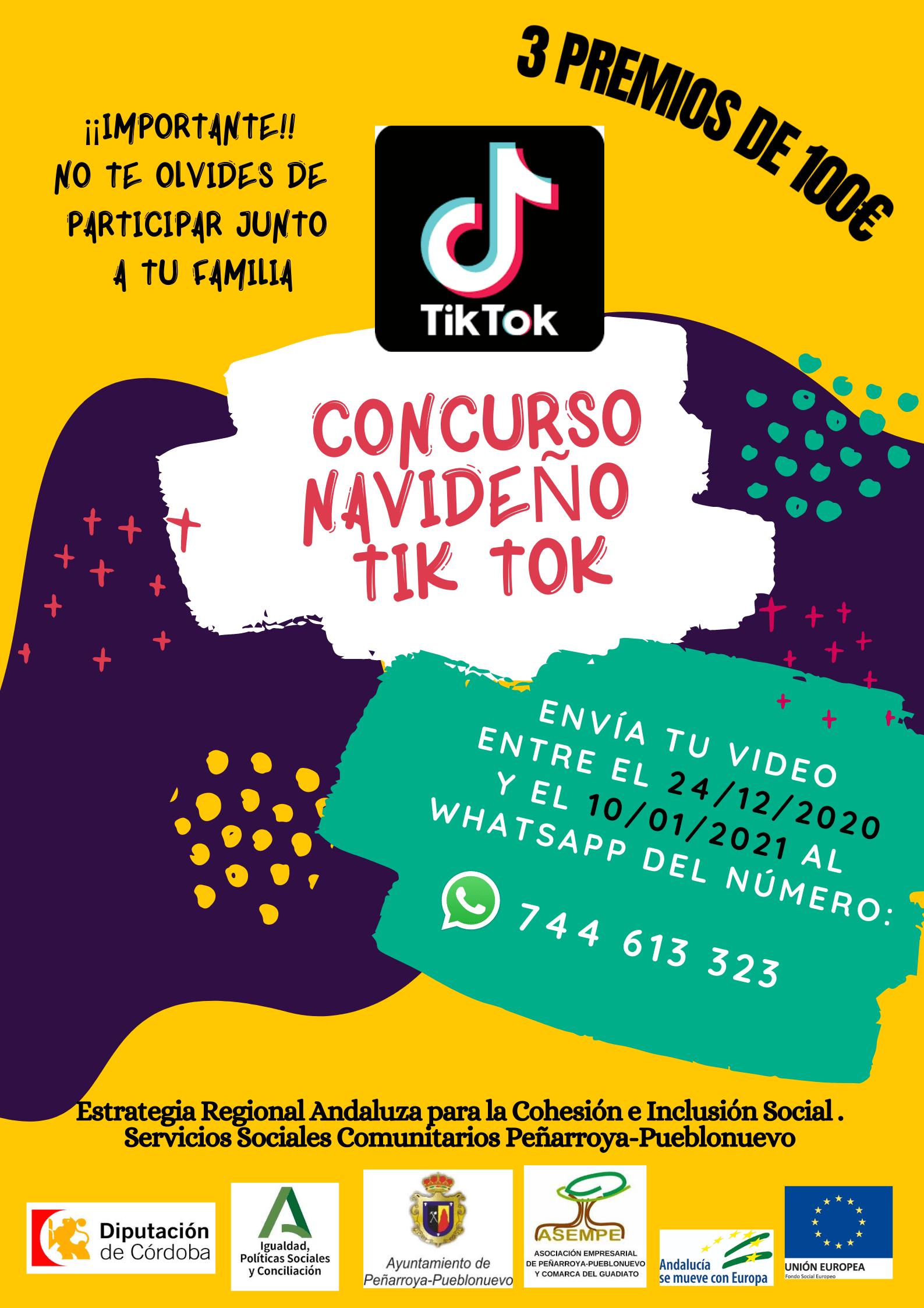 CONCURSO NAVIDEÑO TIK TOK 1