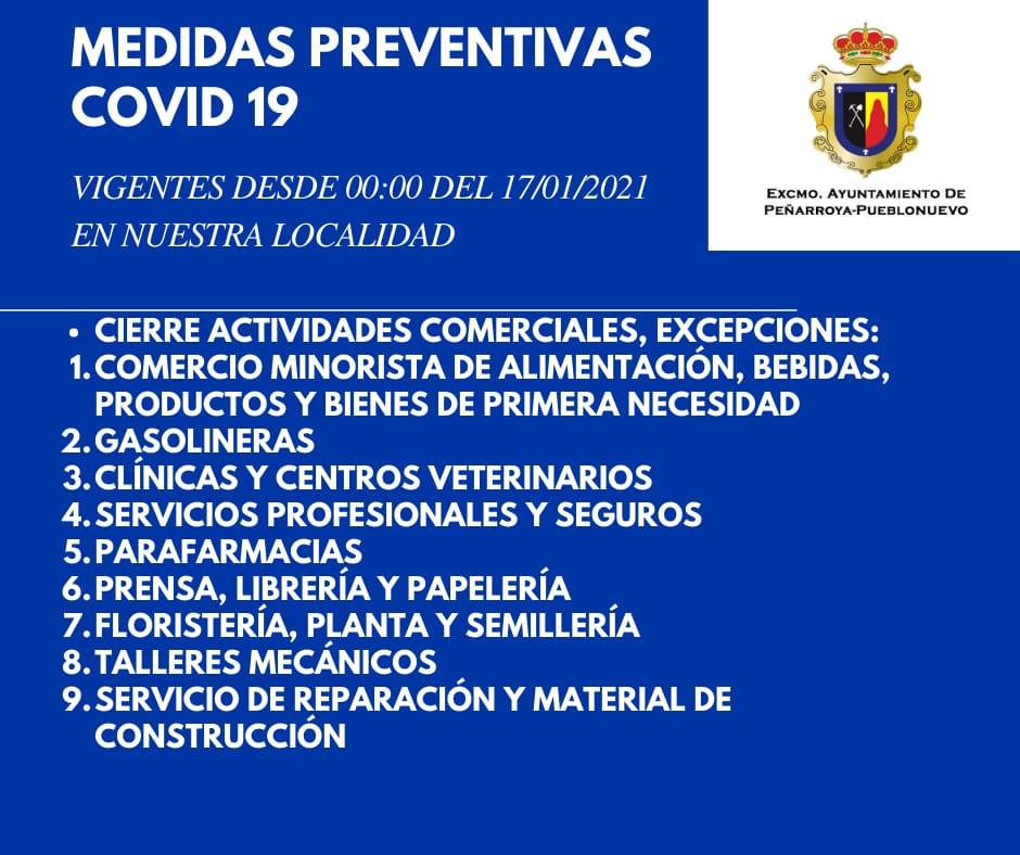 Medidas Preventivas COVID-19 en Nuestra Localidad 2