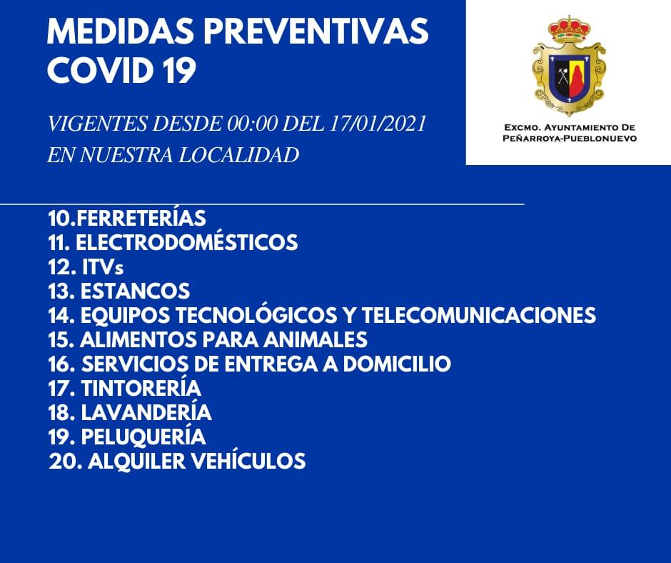 Medidas Preventivas COVID-19 en Nuestra Localidad 3