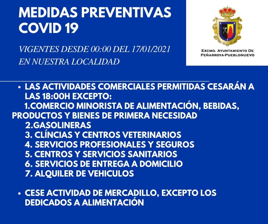 Medidas Preventivas COVID-19 en Nuestra Localidad 4