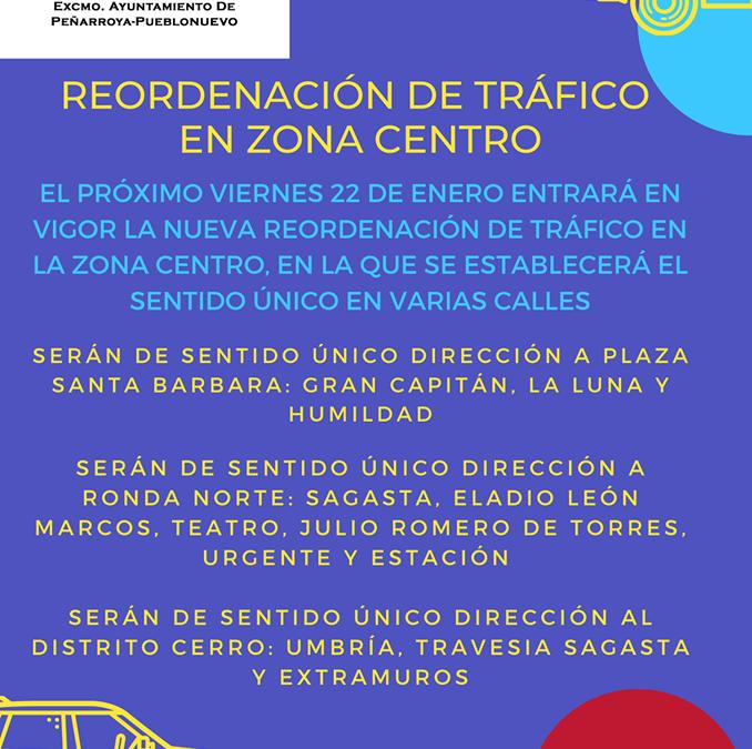 El Ayuntamiento Reordena el Tráfico en la Zona Centro