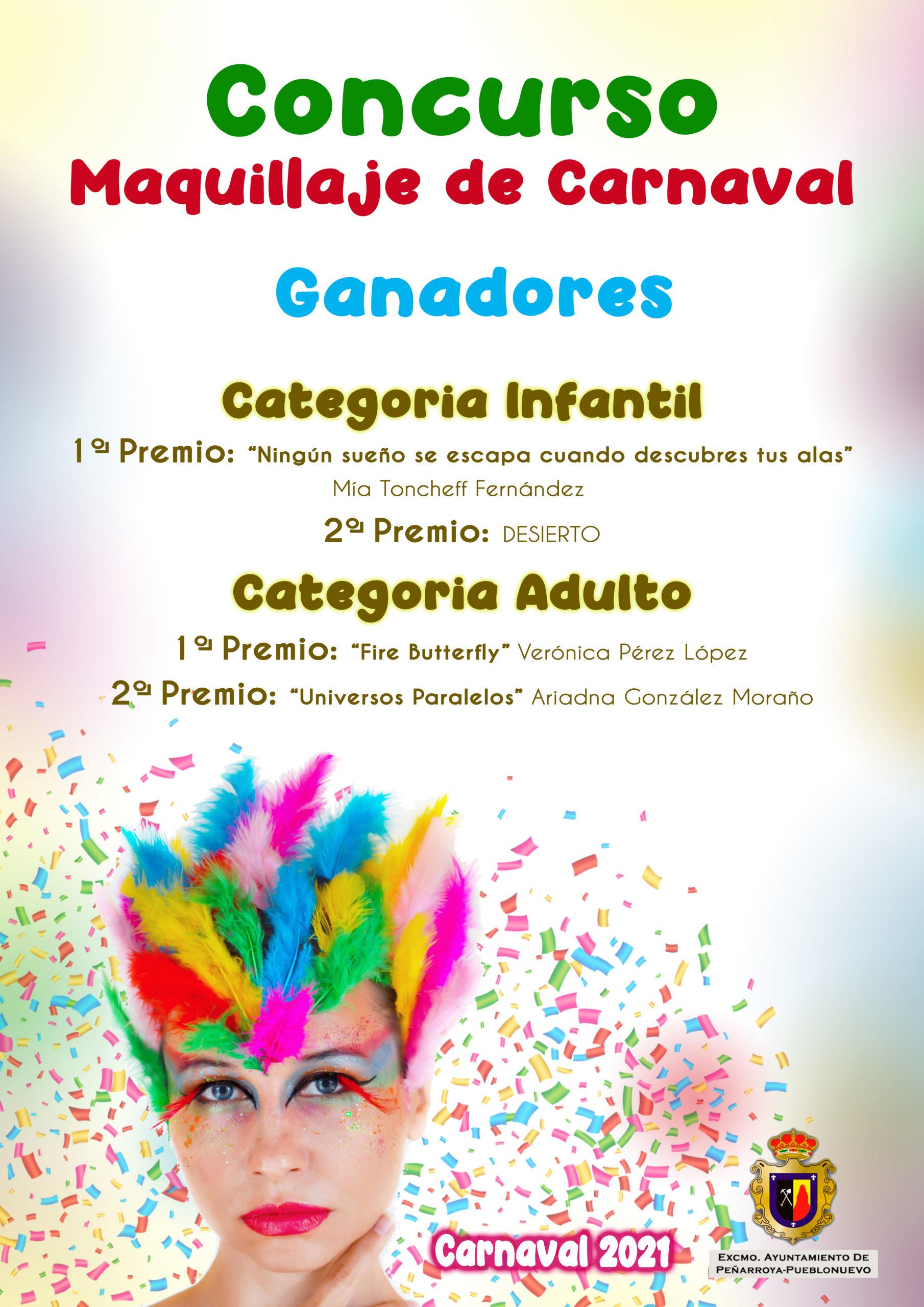 Fallo del Jurado del Concurso de Maquillaje de Carnaval 2021