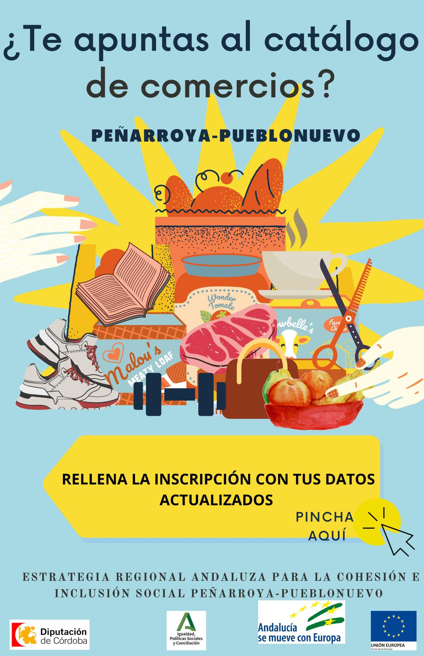 Inscripción al Catálogo de Comercios de Peñarroya-Pueblonuevo