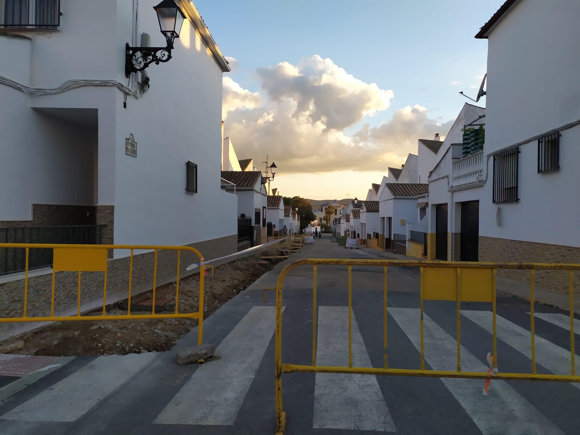 Se Inician Obras de Mejora en la Calle Antonio Machado
