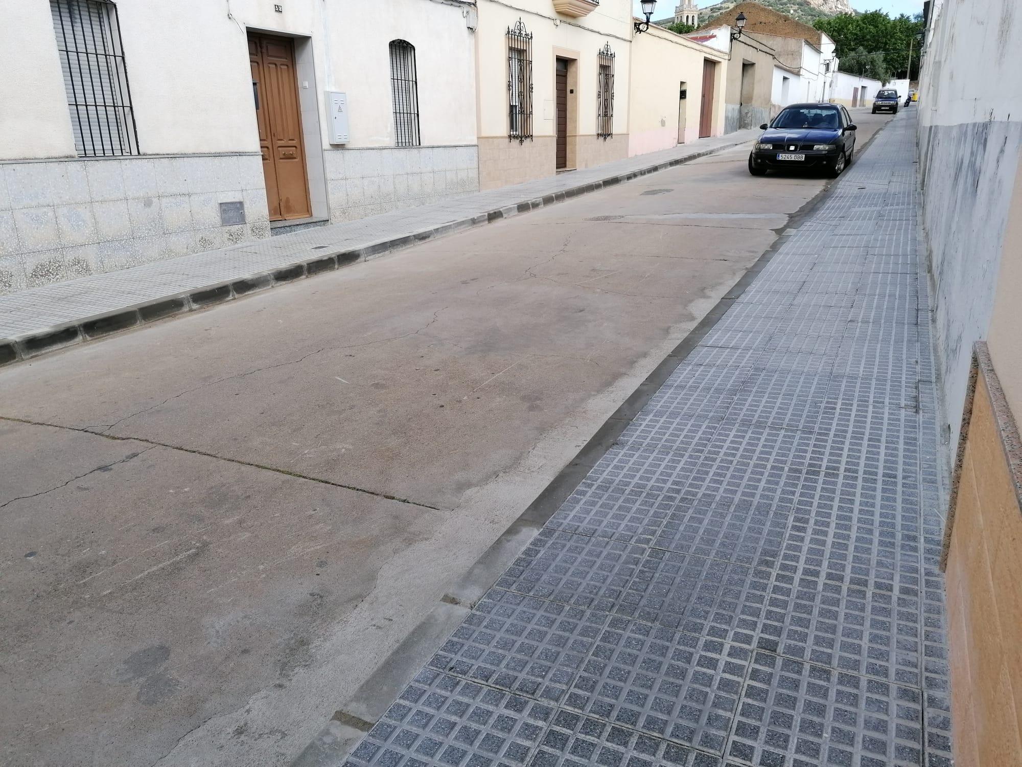 Finalizan Obras de Mejora en la Calle Fernando III El Santo