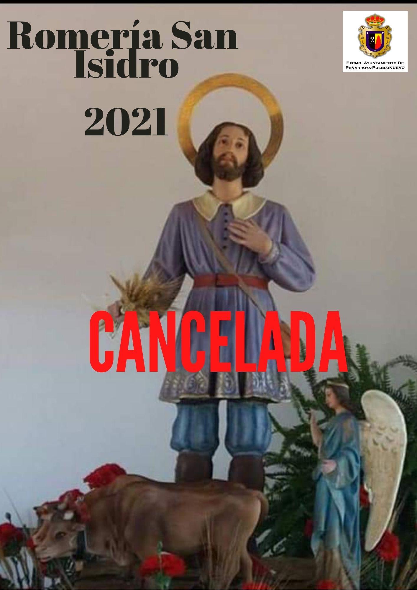 CANCELACIÓN ROMERÍA SAN ISIDRO 2021