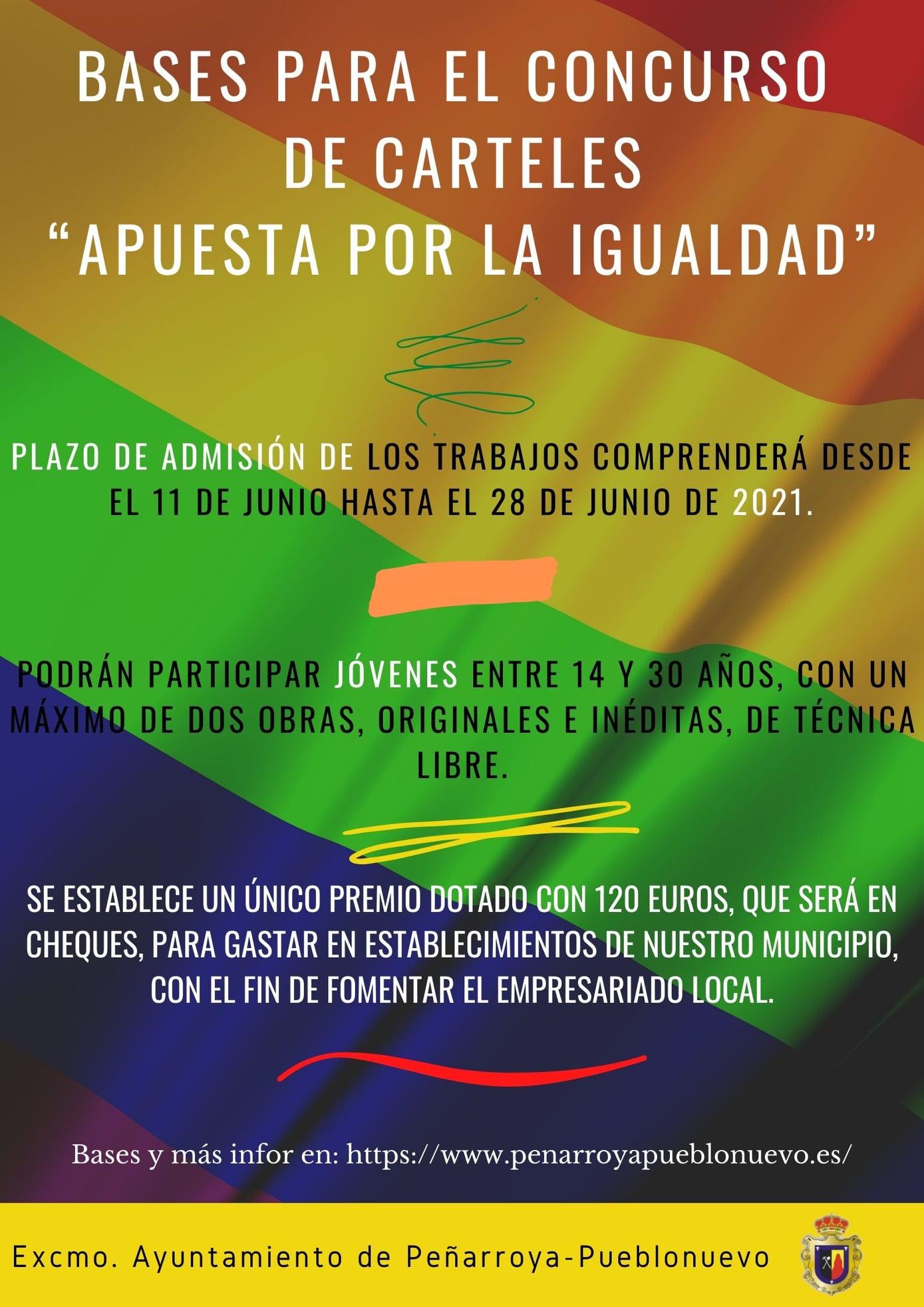 """Nueva Edición del Concurso """"Apuesta por la igualdad"""""""
