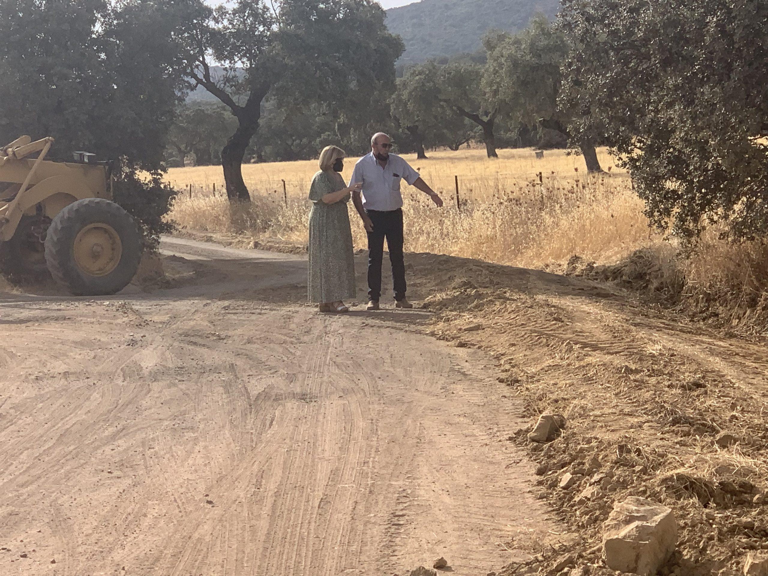 Se Inician Trabajos de Mejora en el Camino de San Bernardino