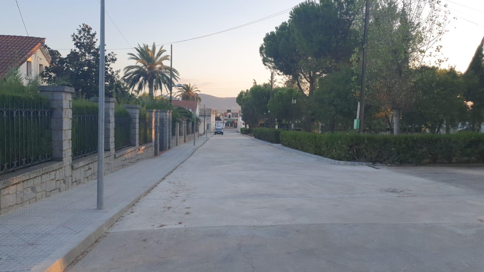 Plaza de España finalizadas las obras de mejora