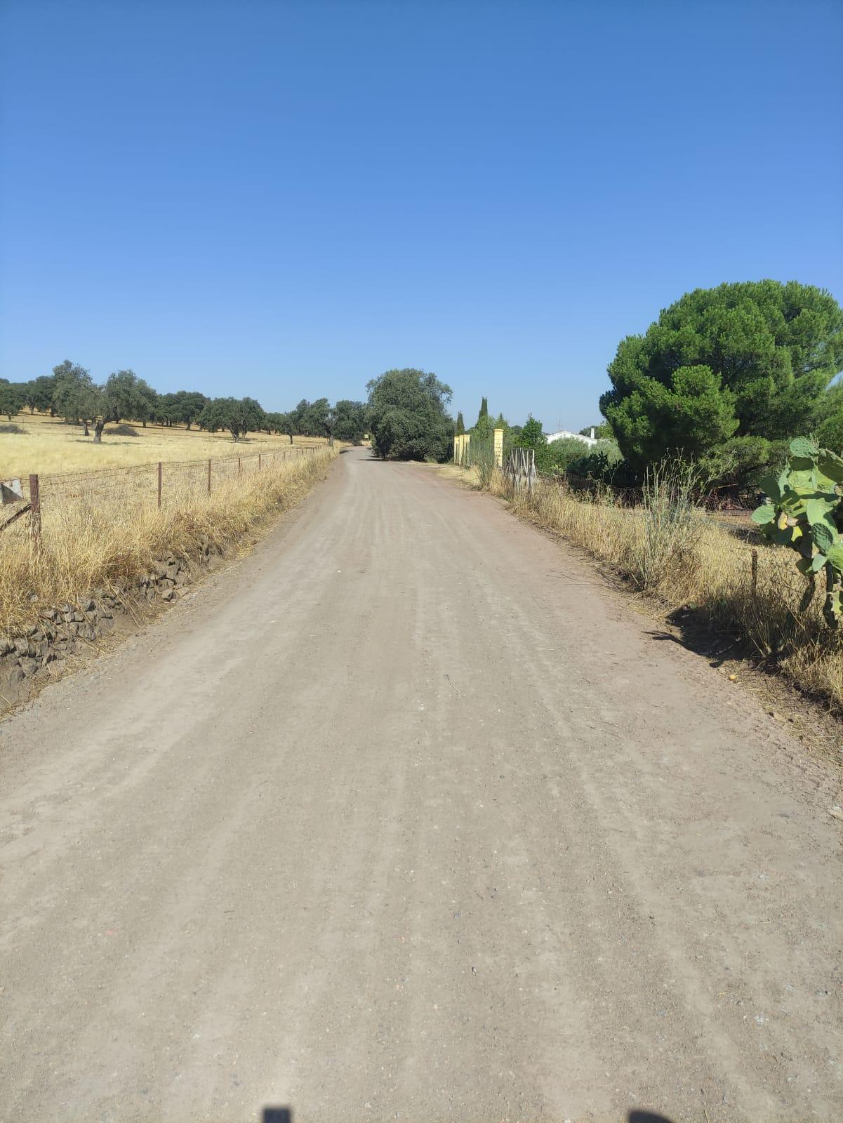 Finalizan trabajos de mejora en el camino de San Bernardino