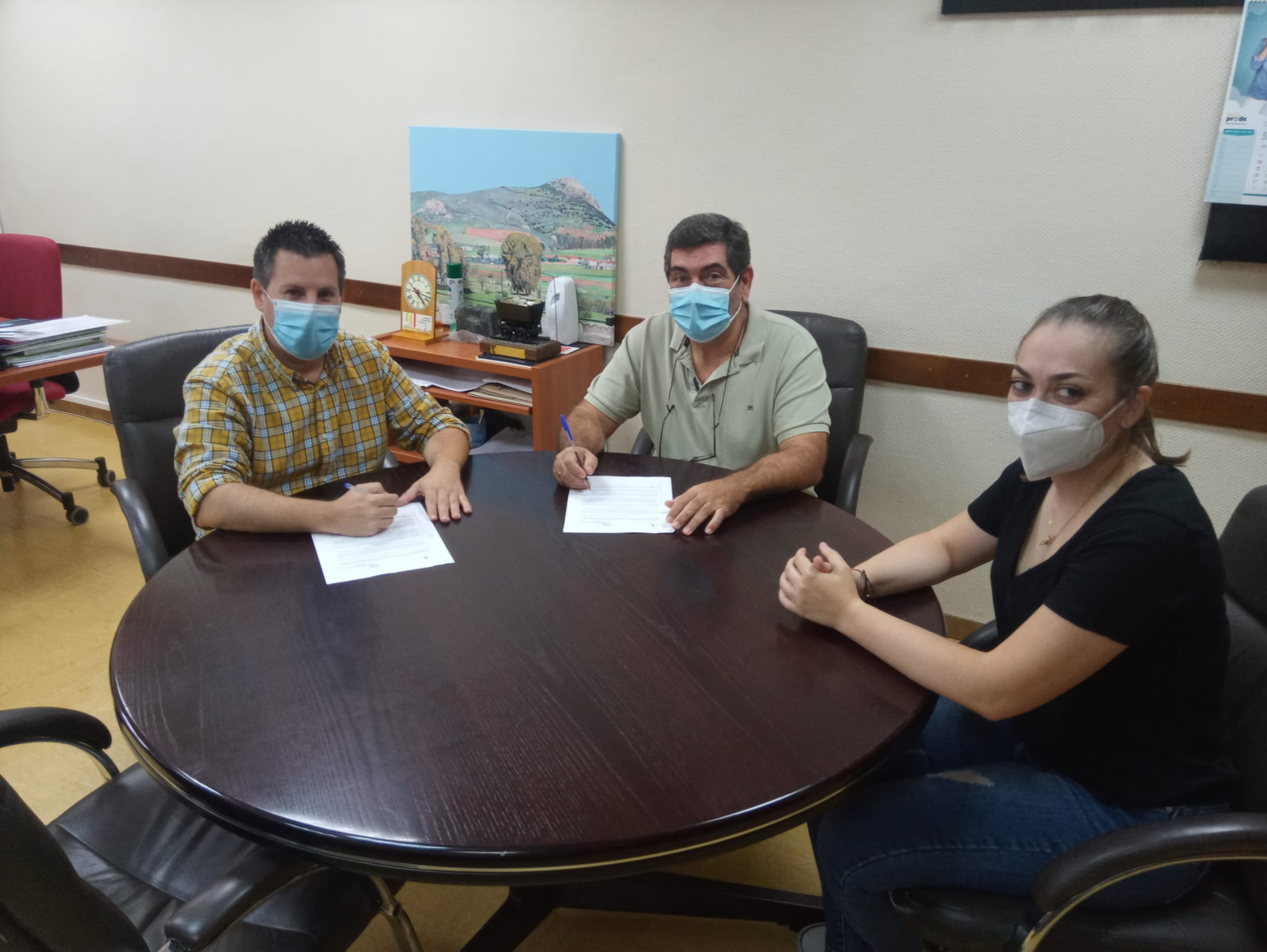 Firmado el Contrato para la Construcción del Parque Infantil de La Guita