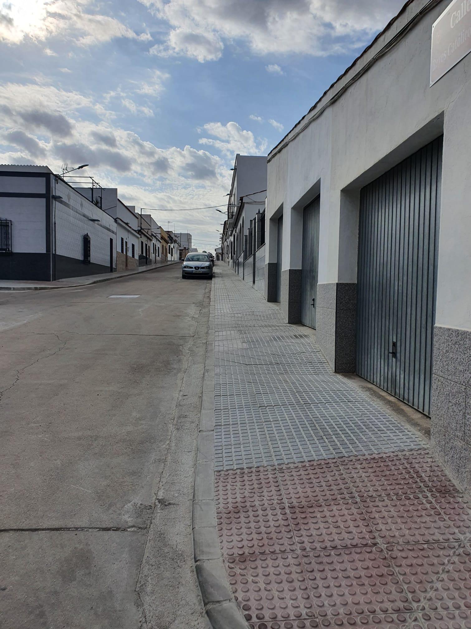 Calle Reyes Católicos finalizadas obras de mejora