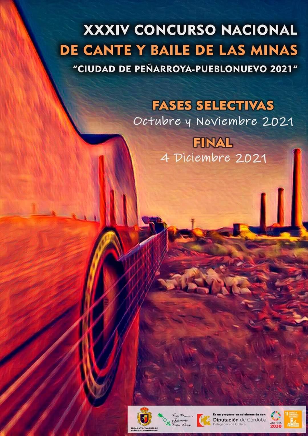 CONCURSO XXXIV CANTE Y BAILE DE LAS MINAS CIUDAD DE PEÑARROYA-PUEBLONUEVO 2021