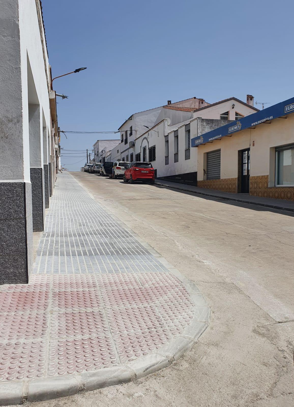 Finalizadas obras de mejora de la calle Colombia